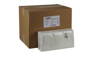 Zelltuchservietten hochweiss, 33x33 cm, 2- lagig,1/4 Falz, 250er Pck.
