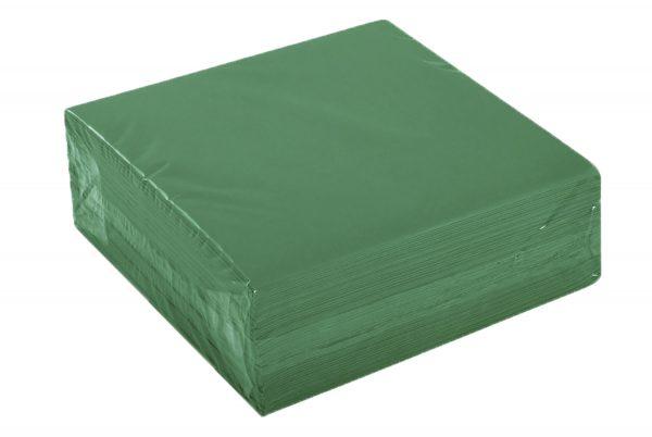 Airlaid Servietten grün 40×40 cm, 50 Stk. /Pck.